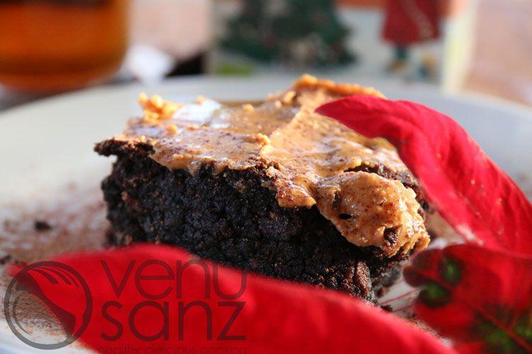 brownie-de-azukis-con-cacahuete