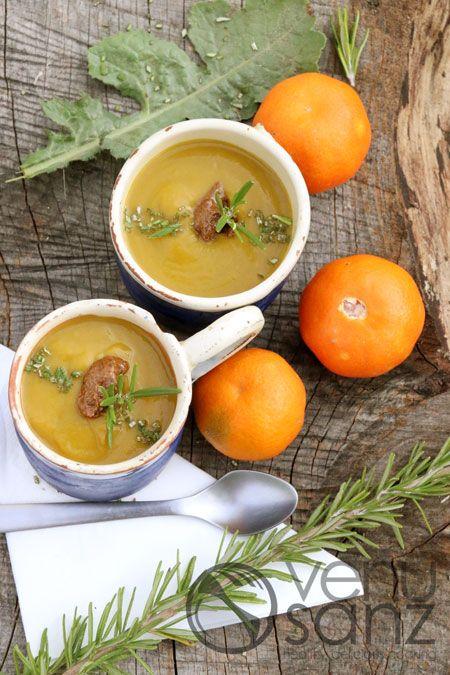 crema-de-calabaza-con-mandarina