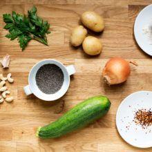 Ingredientes veganos esenciales