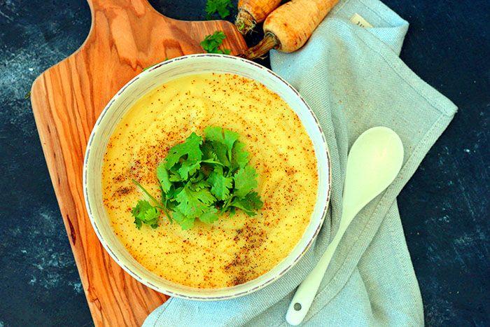 Sopa chirivía