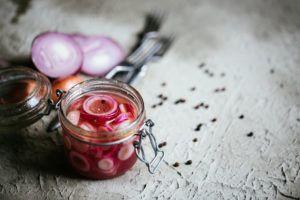 Pickles de cebolla