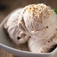 helado vegano de avellanas sin gluten