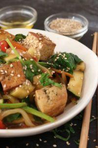 Tofu Agridulce receta