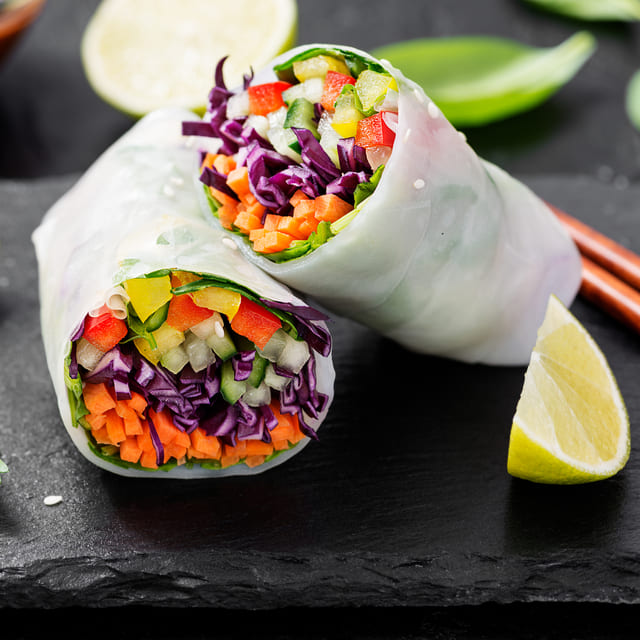 Rollitos vegetal