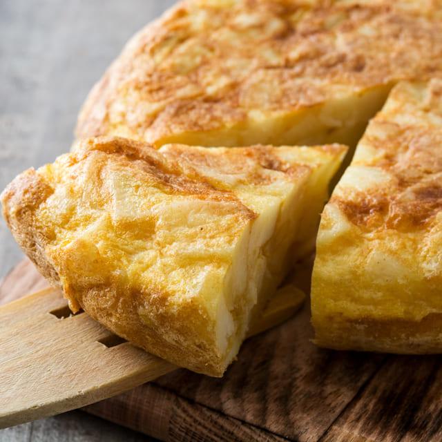 Tortilla sin huevo